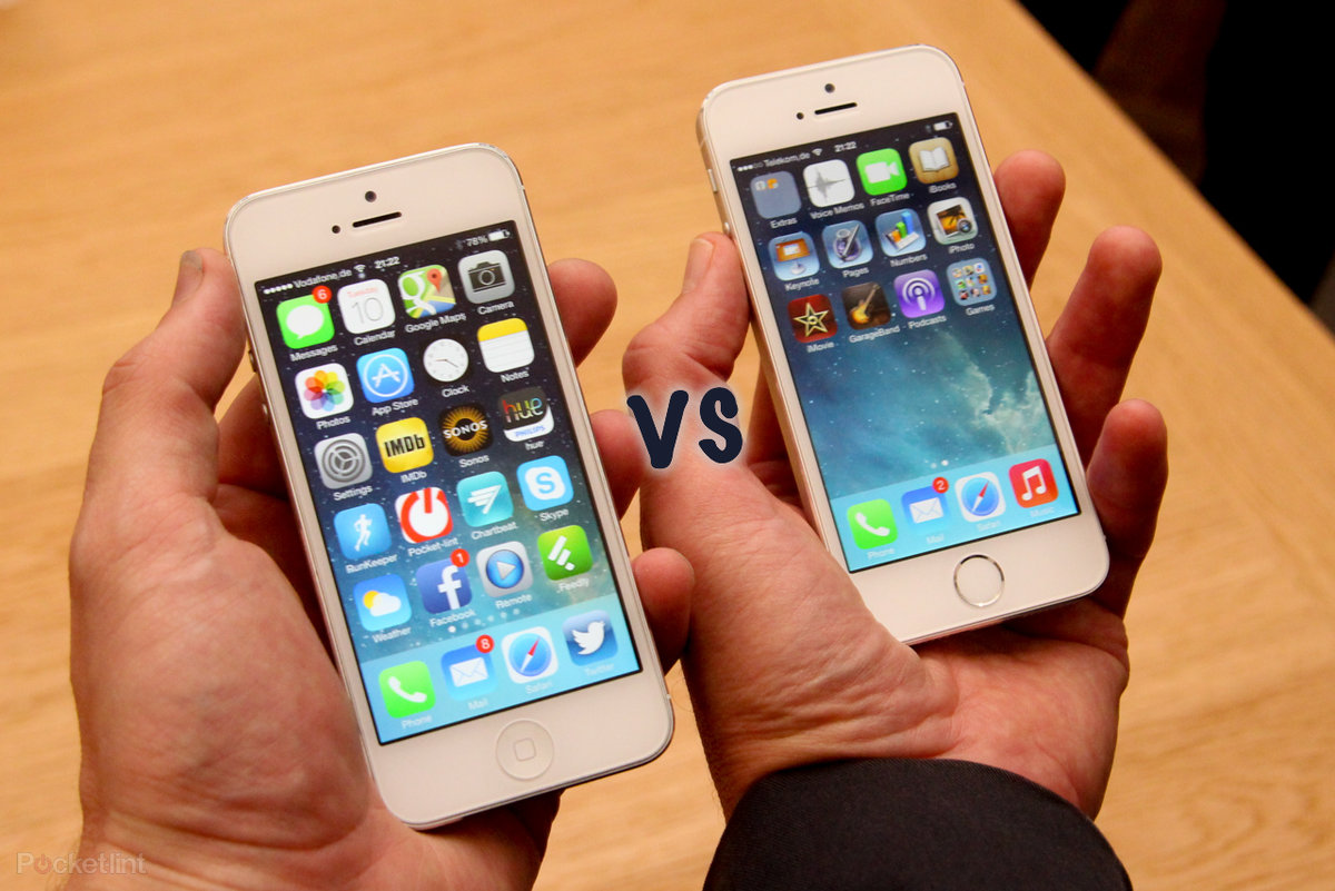 Iphone 5s Vs 5 Whats Changed Iphine