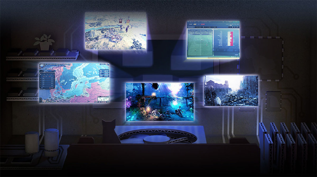 SteamOS Announced Play Games In Your Living Room Streamed From A PC Or Mac And More