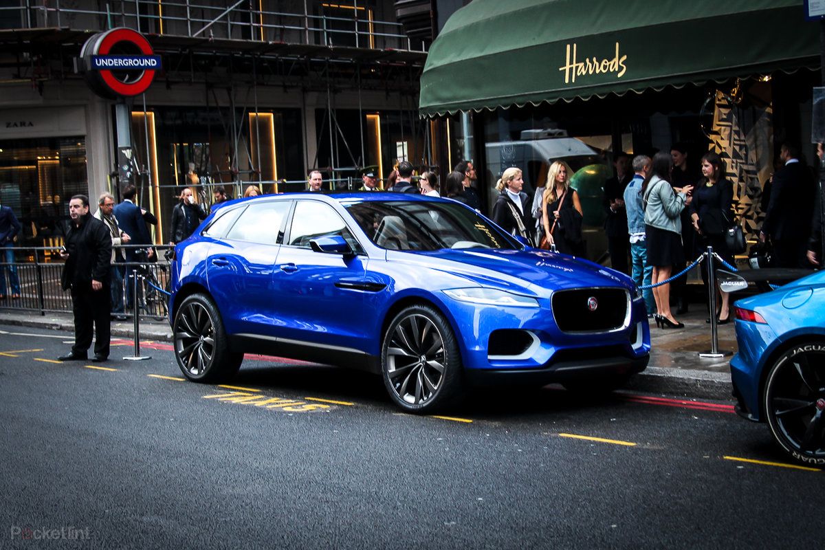 Jaguar C-X17 comes to London, but it's only ever going to be a