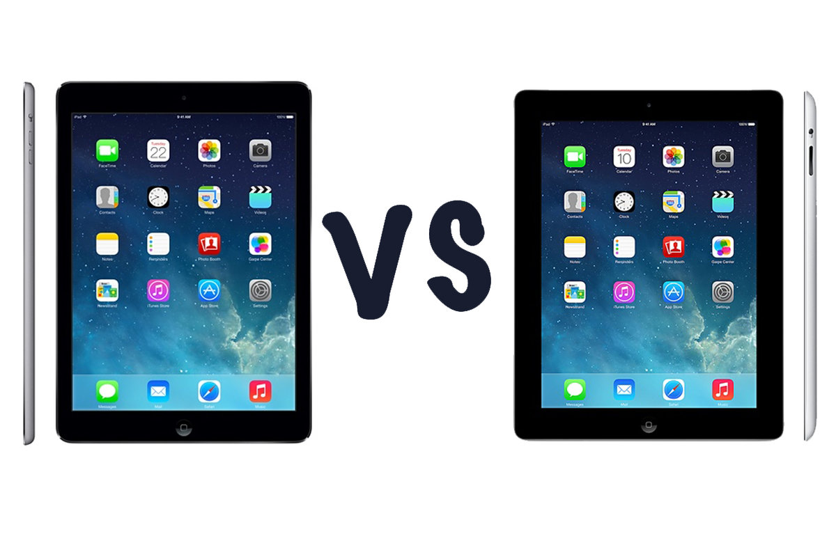 Apple Ipad Air Vs Ipad 4 What S The Difference Pocket Lint