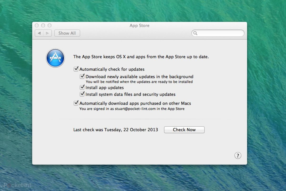 os x mavericks download apple store