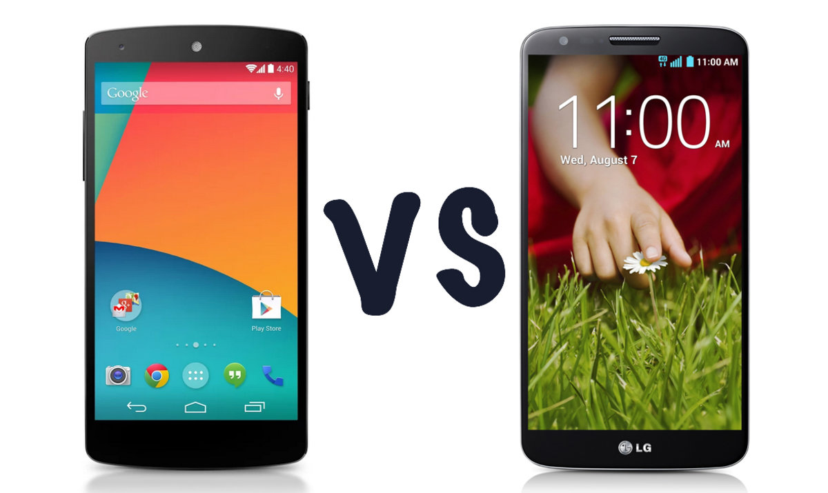 Google Nexus 5 vs LG G2: What's the difference? - Pocket-lint