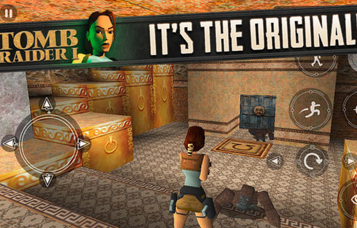 Original 1996 Tomb Raider Video Game Releases For Ios With Ful