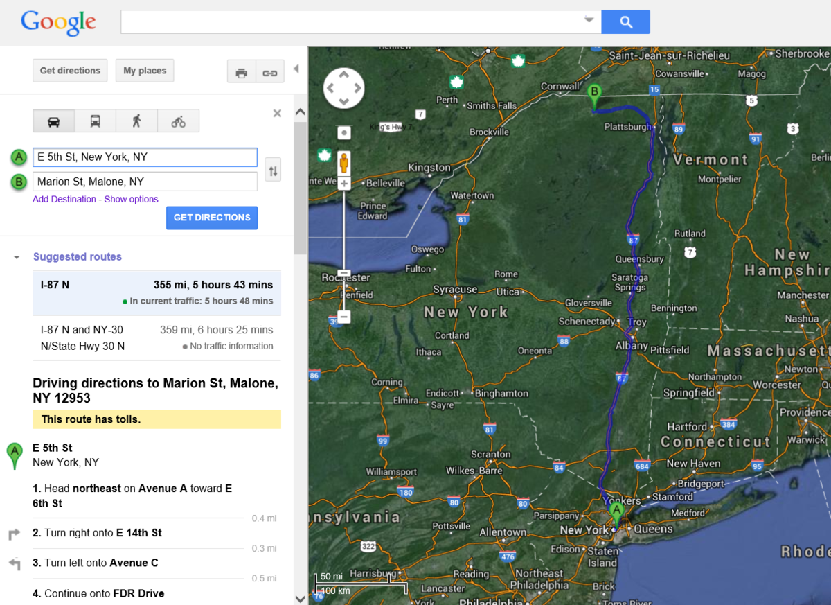 Want to know how Google Maps calculates ETA? Ex-Googler reveals Yahoo Maps Walking Directions Map on maps travel directions, maps driving directions, maps directions from to,