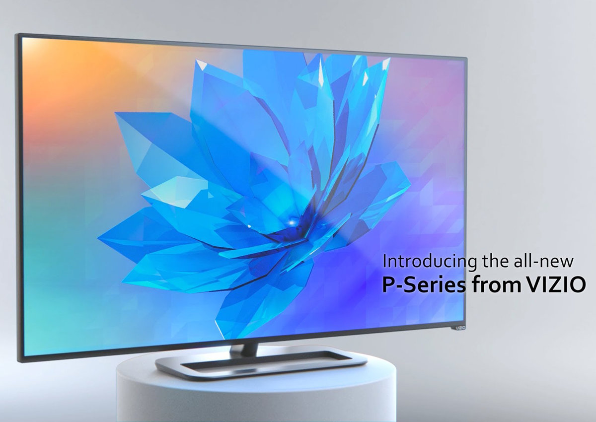 vizio tv 4k. buy your first 4k tv for only £608 thanks to the impressive vizio p series - pocket-lint tv 4k