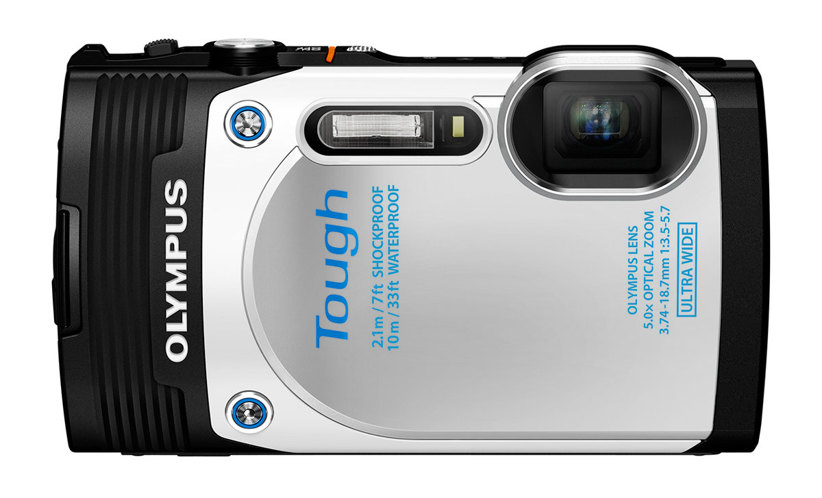 Olympus Stylus Tough Tg 850 Is The First Waterproof Compact Camera 5 Black Kamera Underwater To Add A Tilt Angle Screen Pocket Lint