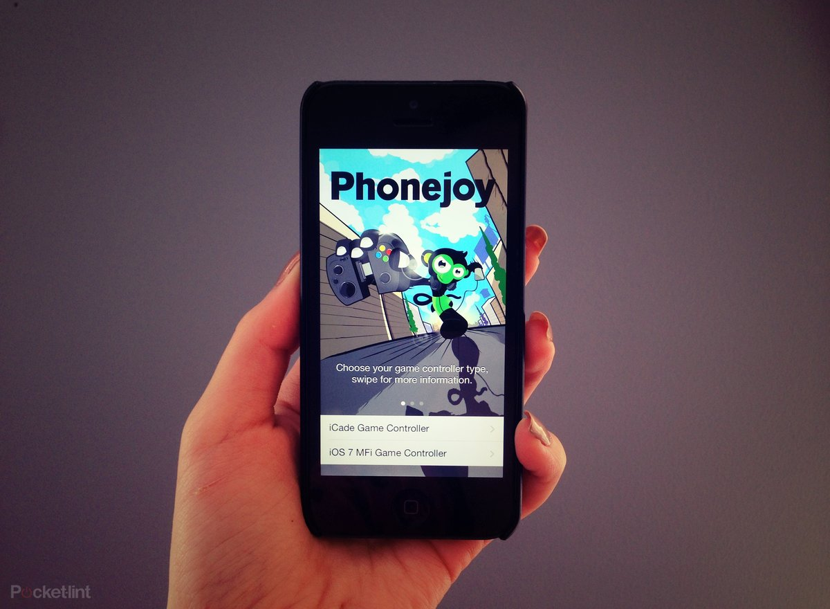 Phonejoy for iPhone app tells you which iOS 7 games work with M