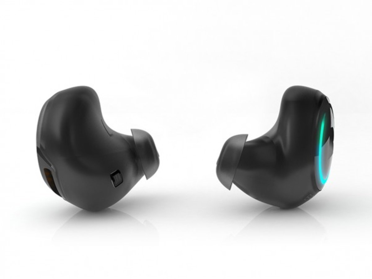 Dash Earbuds Store Music Track Heart Rate And Oxygen Levels An