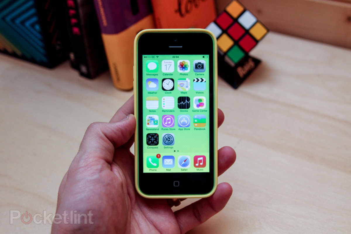 Apple 8gb Iphone 5c Leaks Hint At Worldwide Debut For This Week Pocket Lint