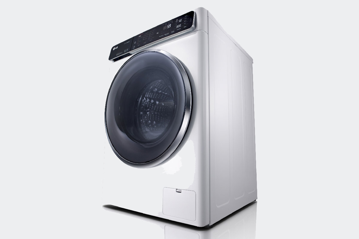 Lgs new washing machines use nfc to offer more programmes via lgs new washing machines use nfc to offer more programmes via smartphone pocket lint buycottarizona Images