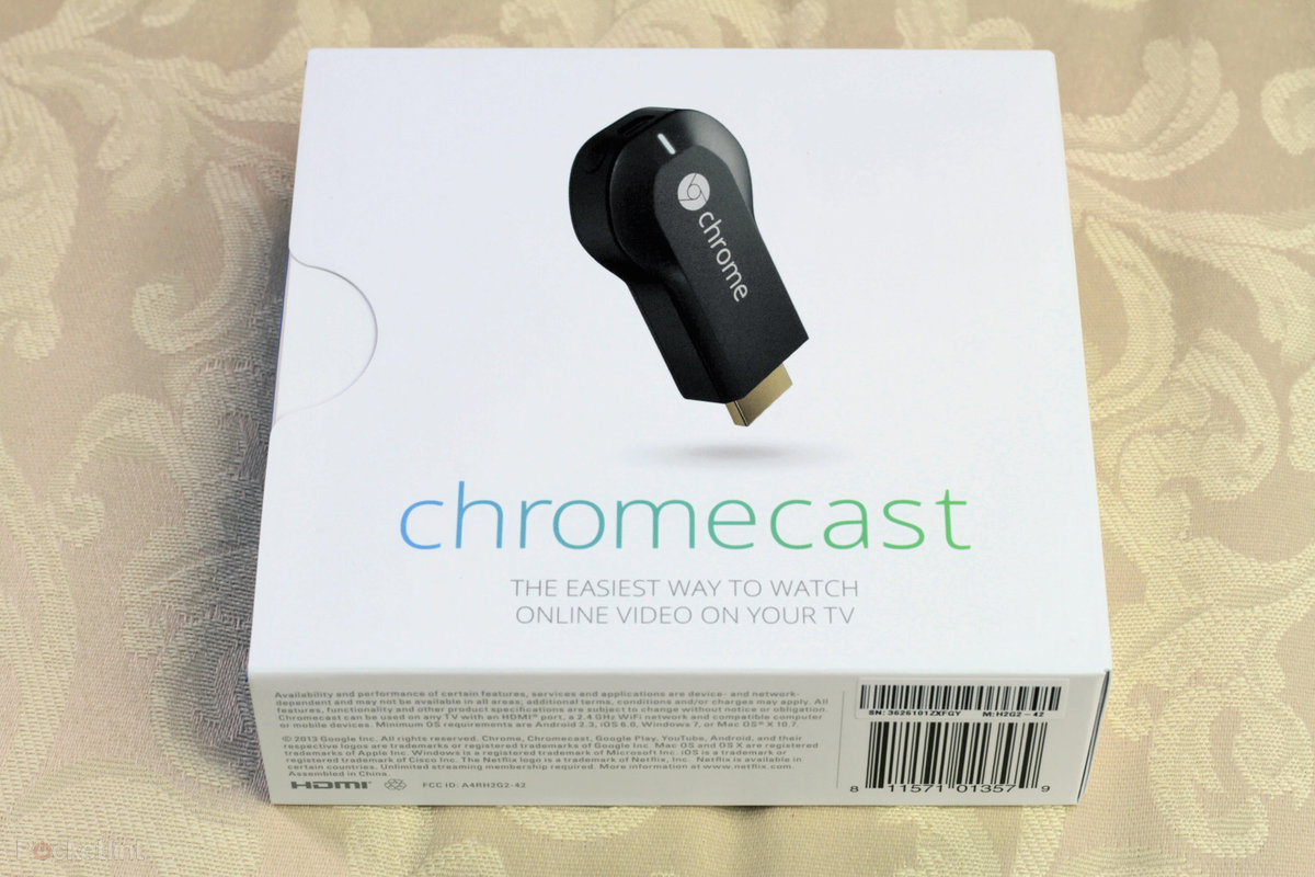 Buy a Chromecast in the UK and get £4 99 free Google Play credi