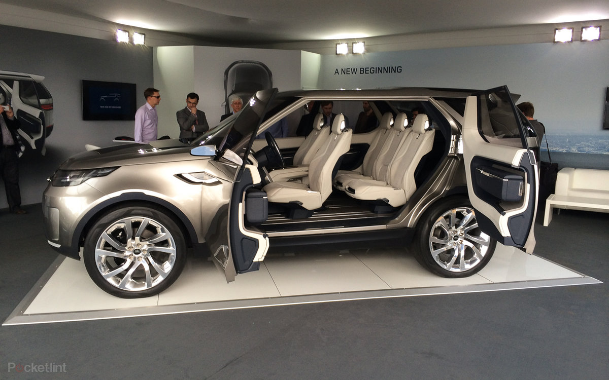 Land Rover Discovery Vision Concept The 4x4 Of Tomorrow Pocket Lint