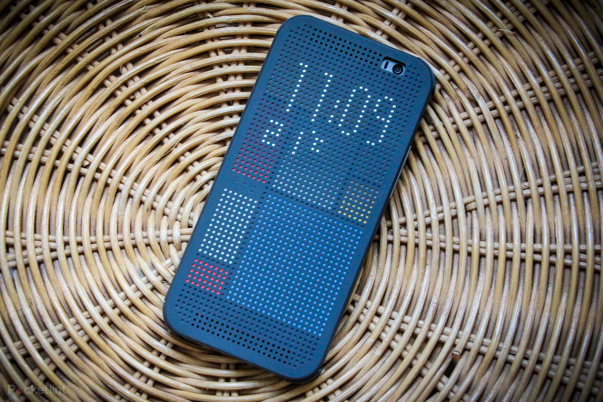 your htc one m8 dot view case just got smarter pocket lint