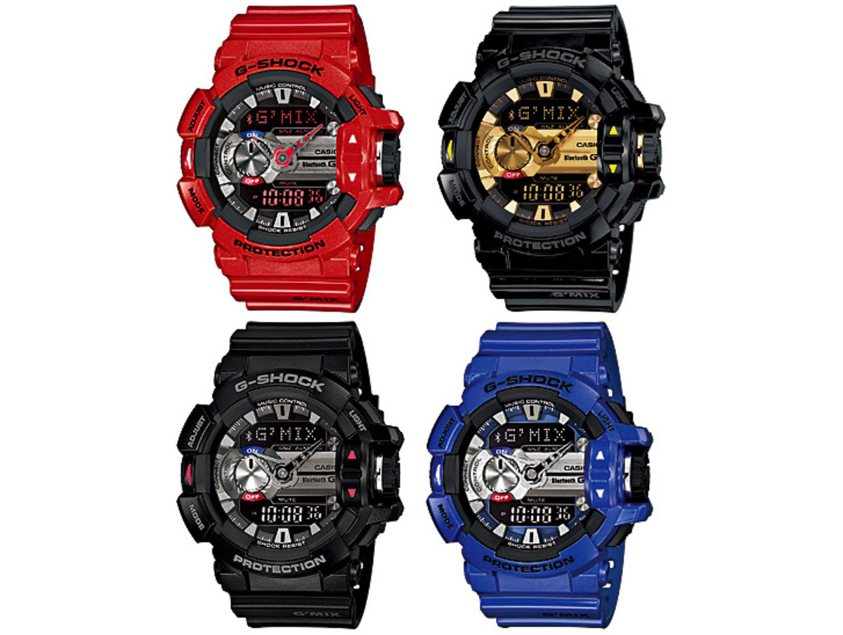 Casio G Shock Gba 400 Adds Soundhound Music Discovery To Its Bl