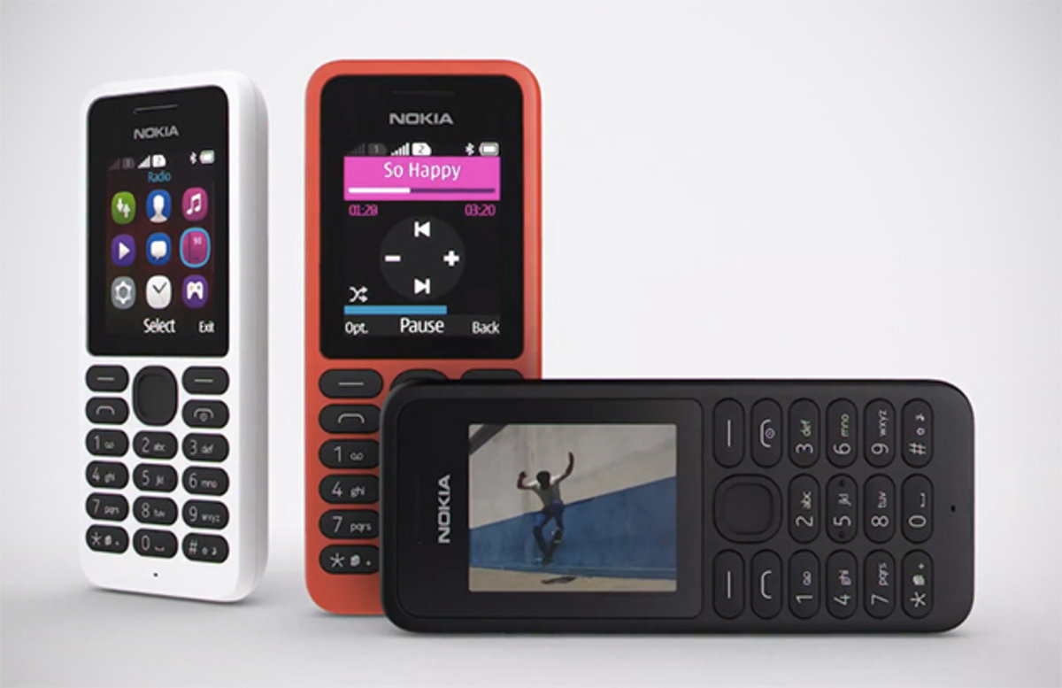Nokia 130 Dual Sim Dumbphone Is Super Cheap But Still Offers Access Phone Service To Microsoft Cloud Services Pocket Lint