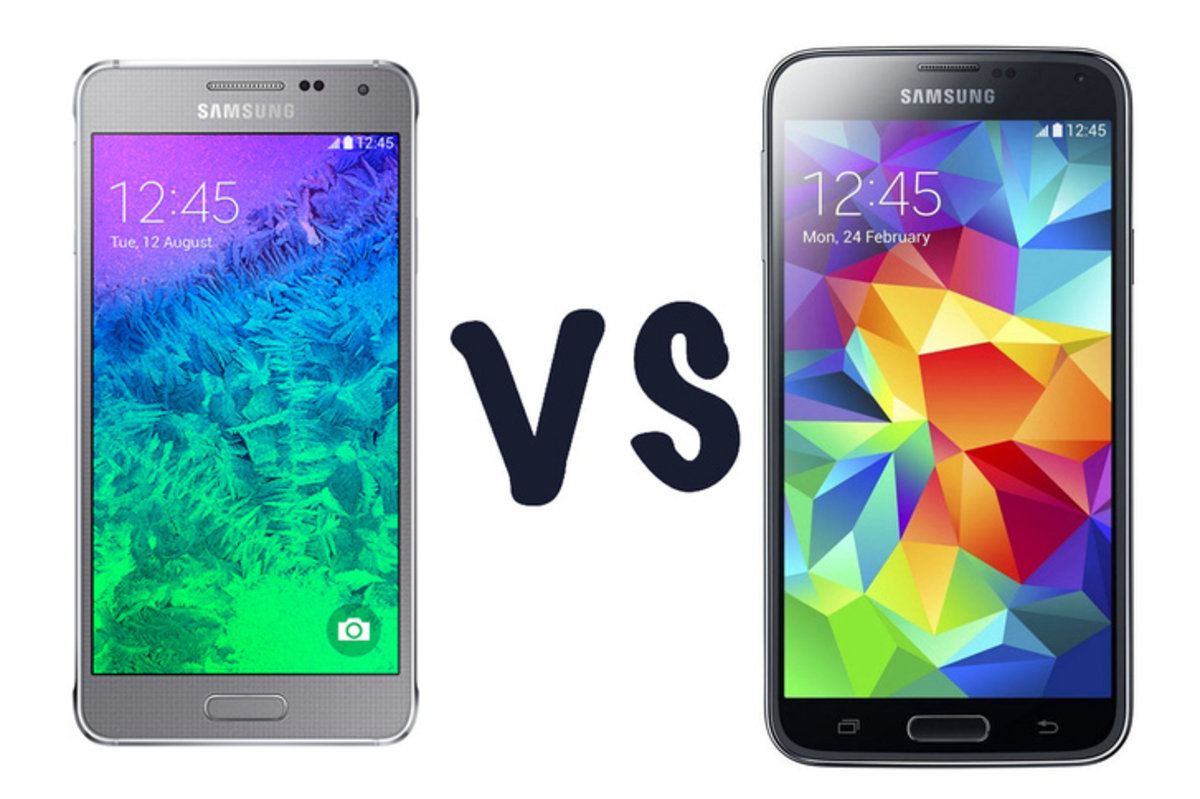 Galaxy Alpha Vs S5 samsung galaxy alpha vs samsung galaxy s5: what's the differenc