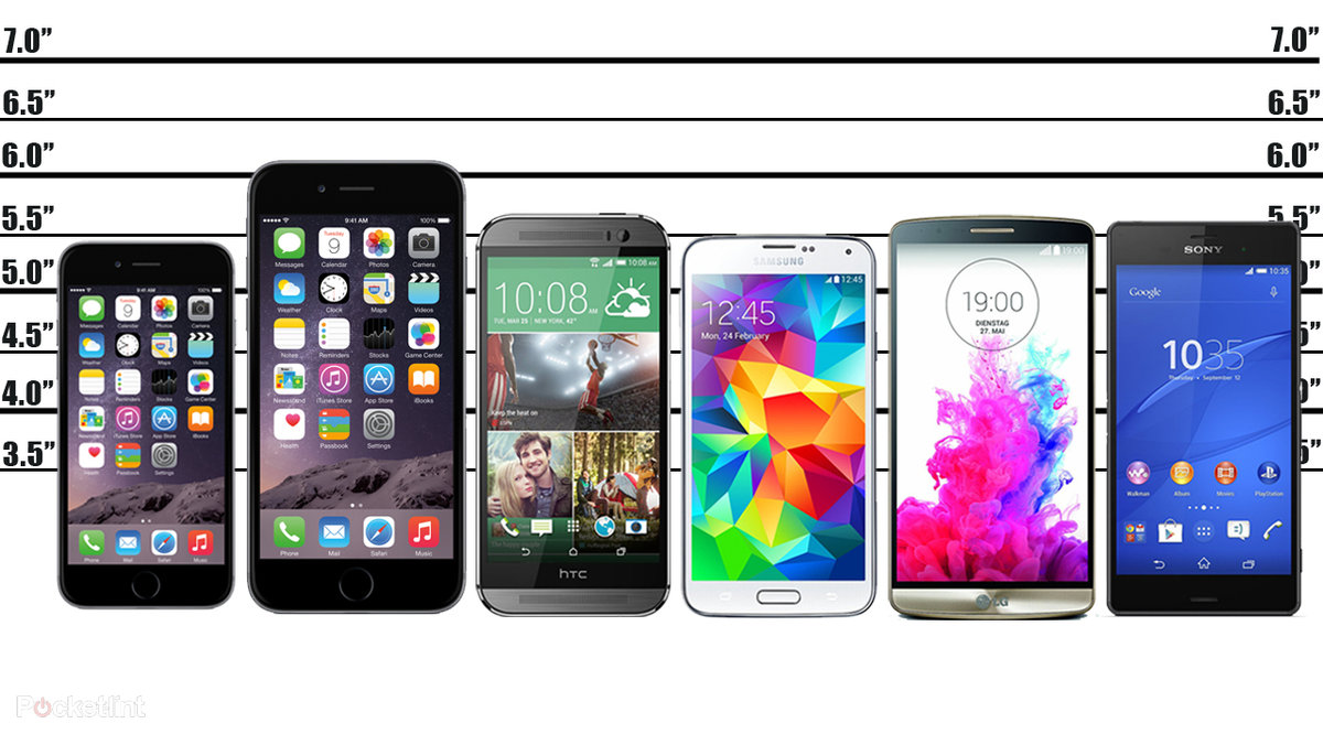 Apple IPhone 6 And Plus Vs Android The Flagship Showdown