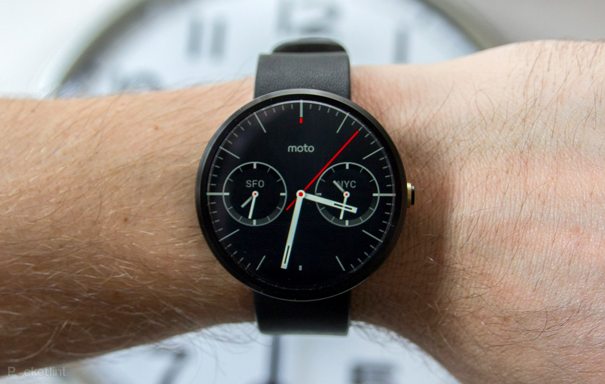 Motorola Moto 360 Review Smart Watch Black Leather
