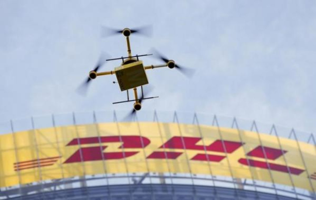 Drone Delivery Parcelcopters To Begin Work This Friday For DHL