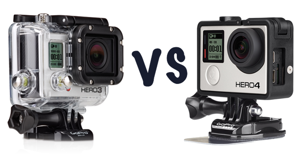 gopro hero4 silver edition vs gopro hd hero3 silver edition whats the difference pocket lint