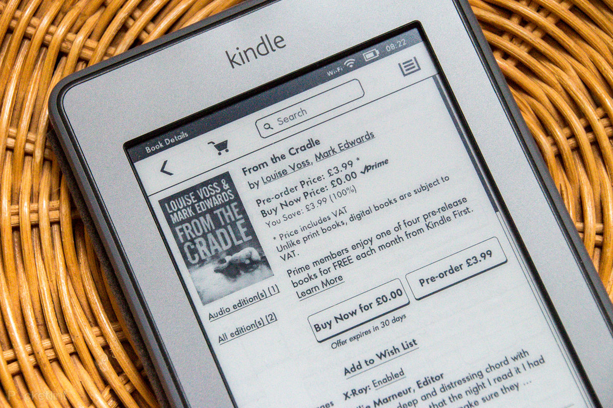 Kindle First: Get free books from Amazon for your Kindle each m