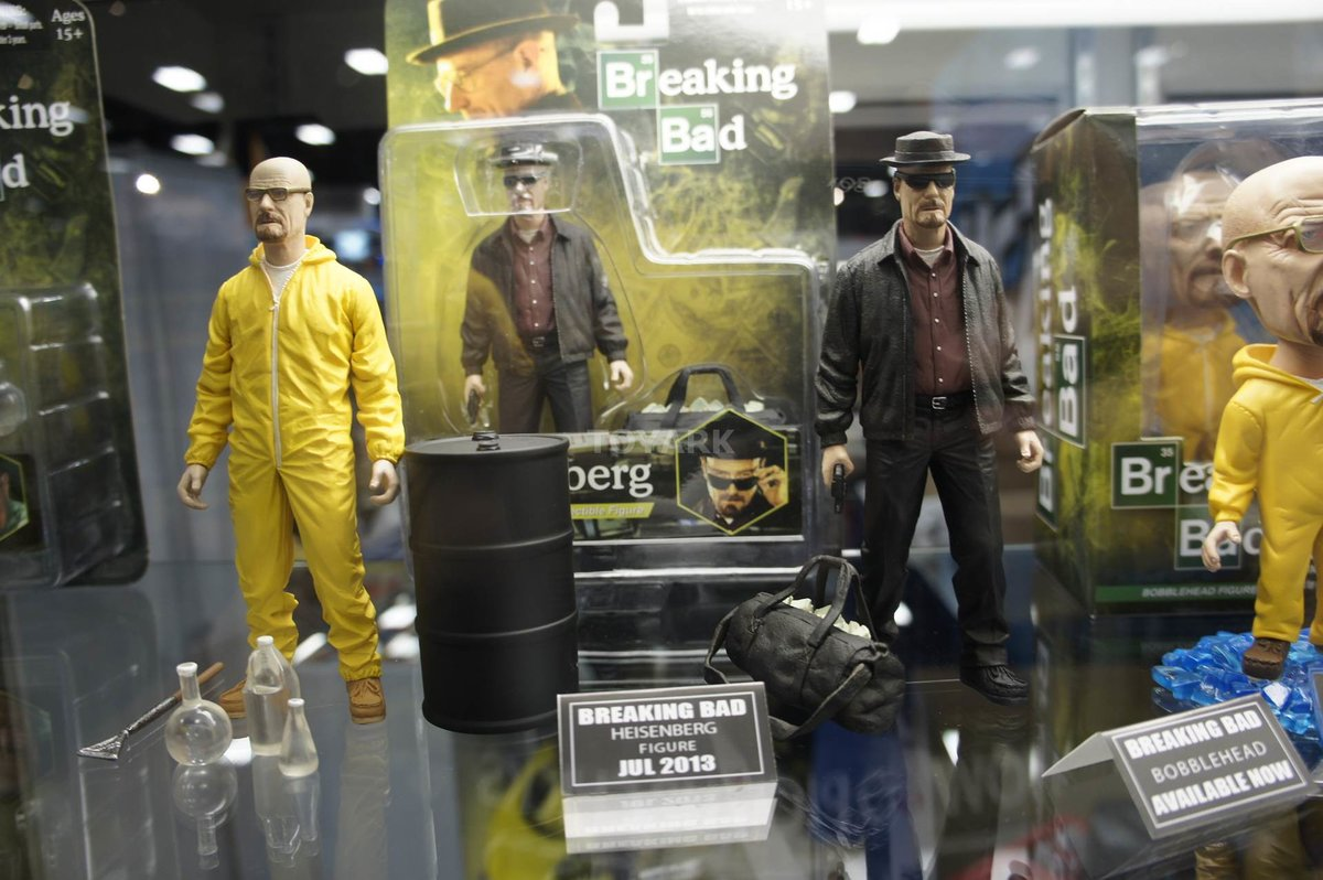 ab448bc9680 Heisenberg  mad  as Breaking Bad action figures pulled from Toys R Us after  online petition