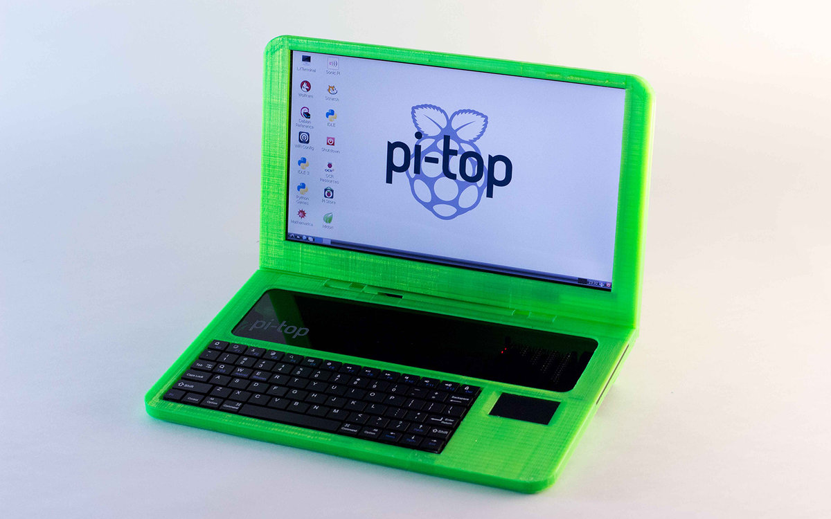 Pi top is the worlds first 3d printed laptop build it yourself pi top is the worlds first 3d printed laptop build it yourself for 180 pocket lint solutioingenieria Image collections