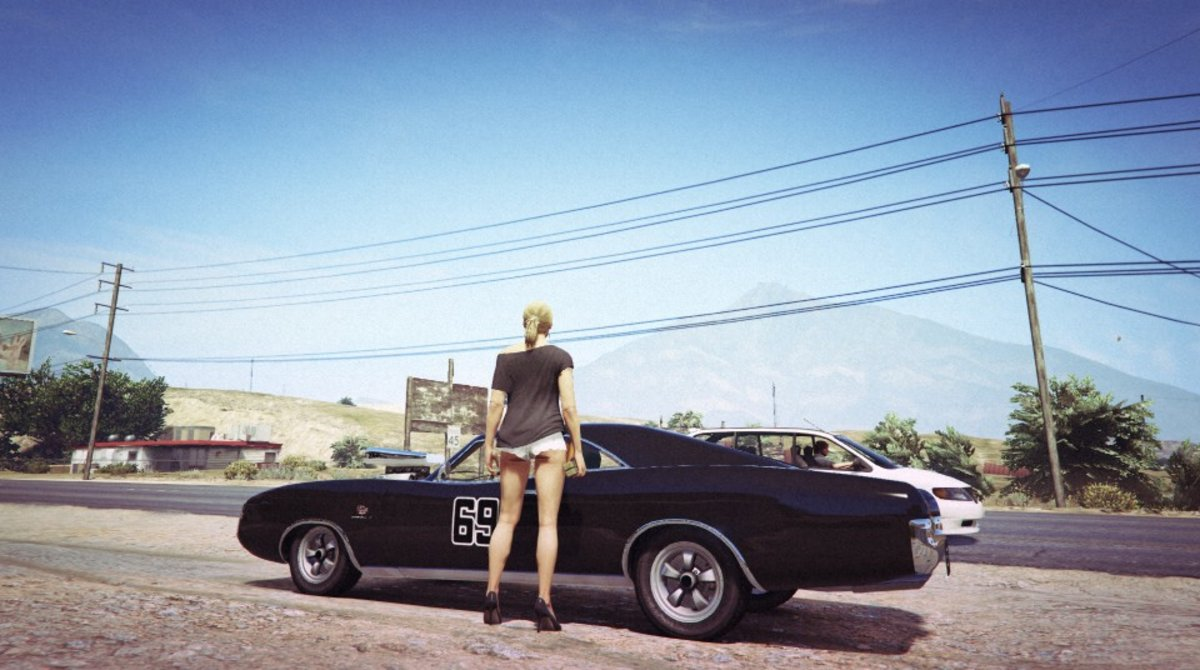 Incredible Snapmatic Pics That Show How Good GTA On PS And - Guy takes pictures showing just realistic grand theft auto v looks