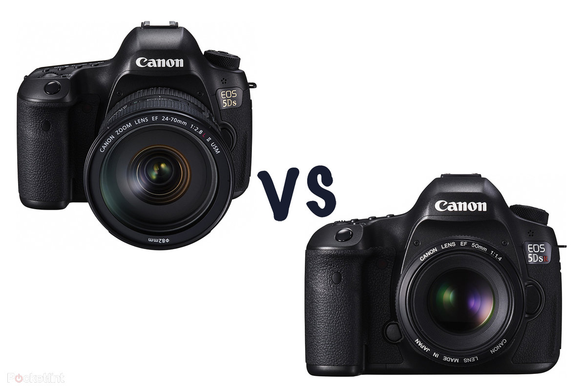 Canon EOS 5DS vs 5DS R: What\'s the difference? 50-megapixel DSLR ...