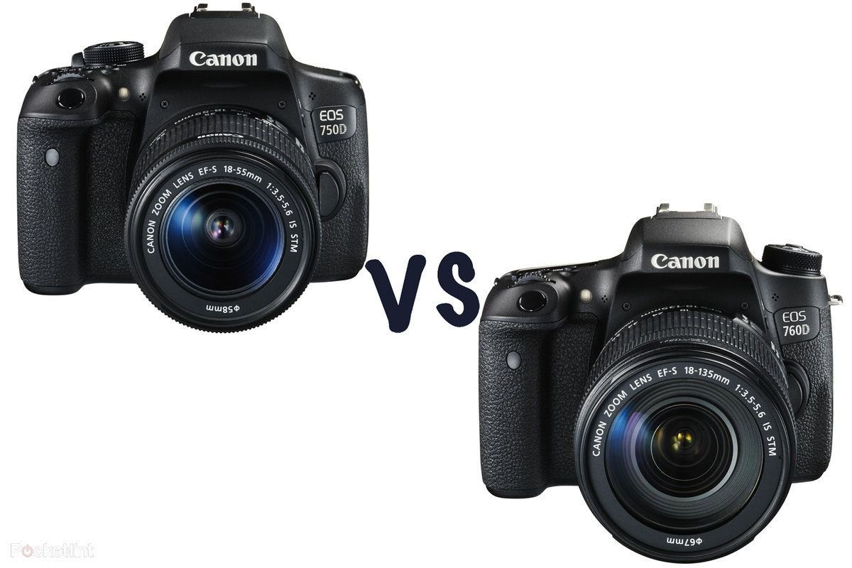 Canon Eos 750d Vs 760d Whats The Difference Mid Weight Dslr 70d Body Showdown Pocket Lint