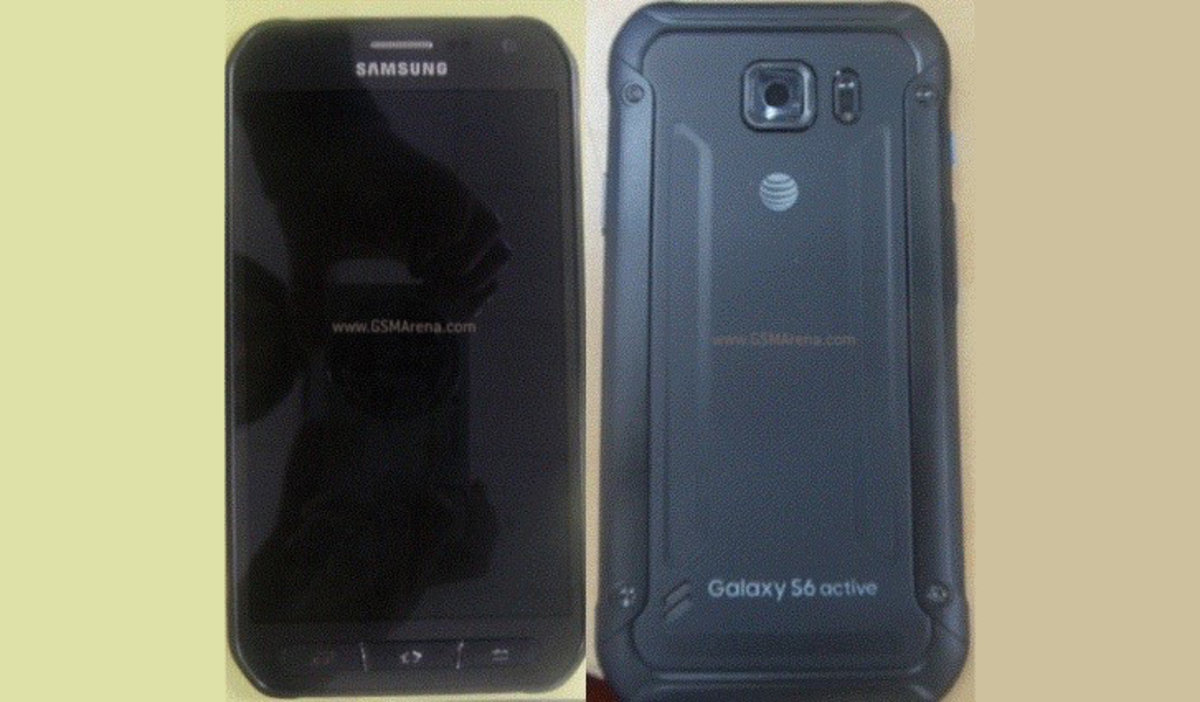new concept 45251 01d0f Is this the Samsung Galaxy S6 Active? Waterproof phone leaks -