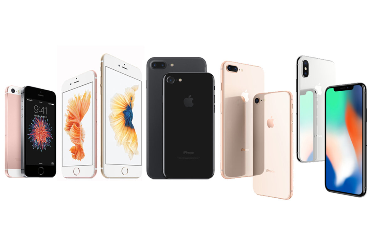 Apple iphone se vs iphone 6 what s your decision - Which Iphone Is Best For You Iphone Se Iphone 6s Iphone 7 Iphone 8 Or Iphone X Pocket Lint