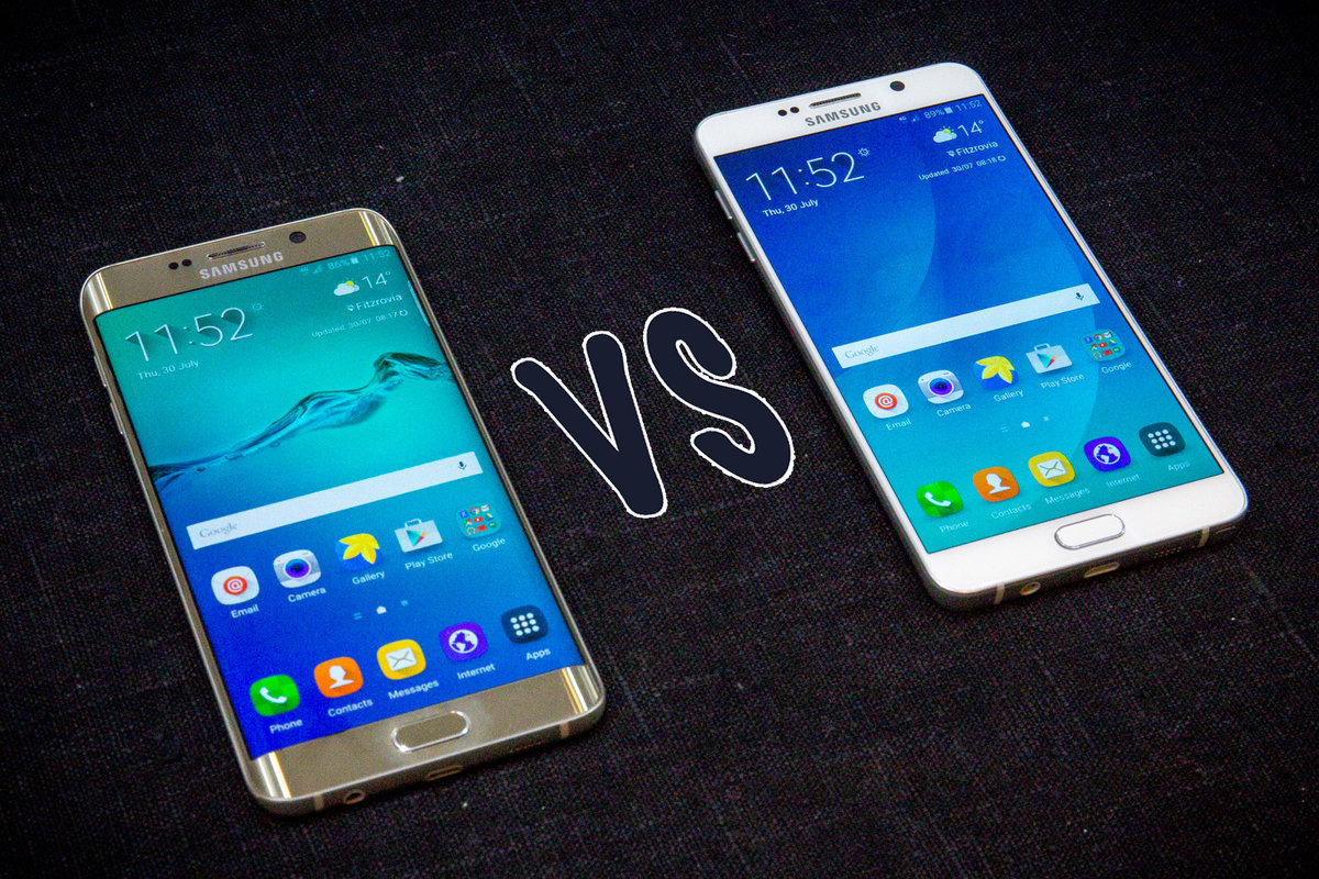 Samsung Galaxy S6 Edge Plus Vs Note 5 Whats The 32gb Difference Pocket Lint