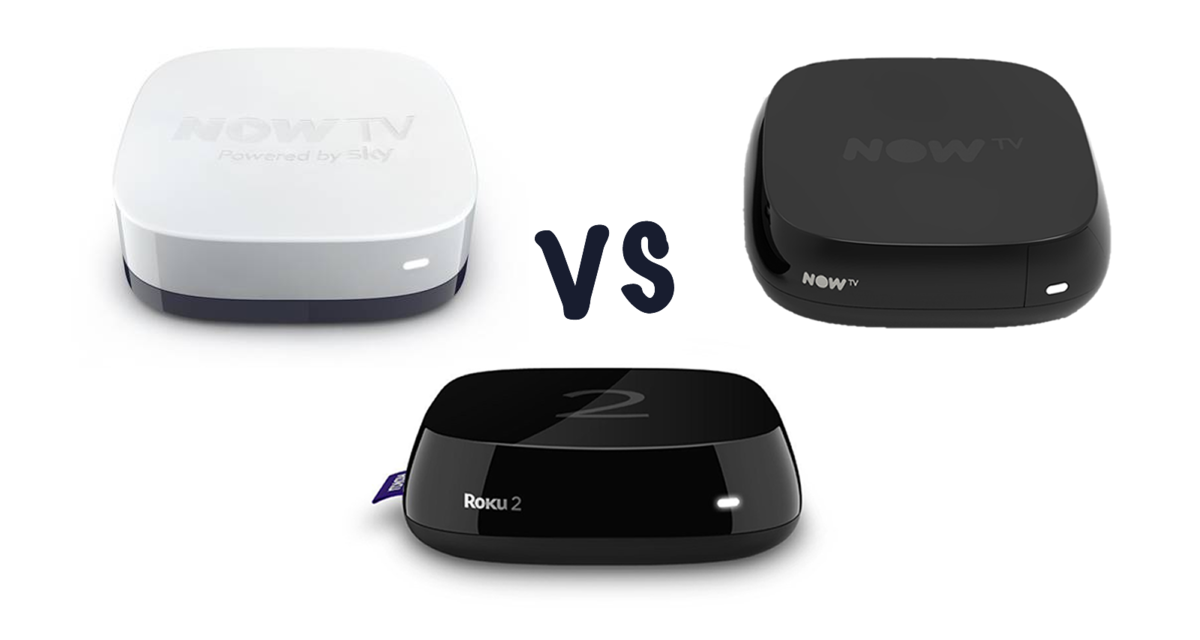 Now TV Box (2015) vs Now TV Box vs Roku 2: What\'s the difference ...
