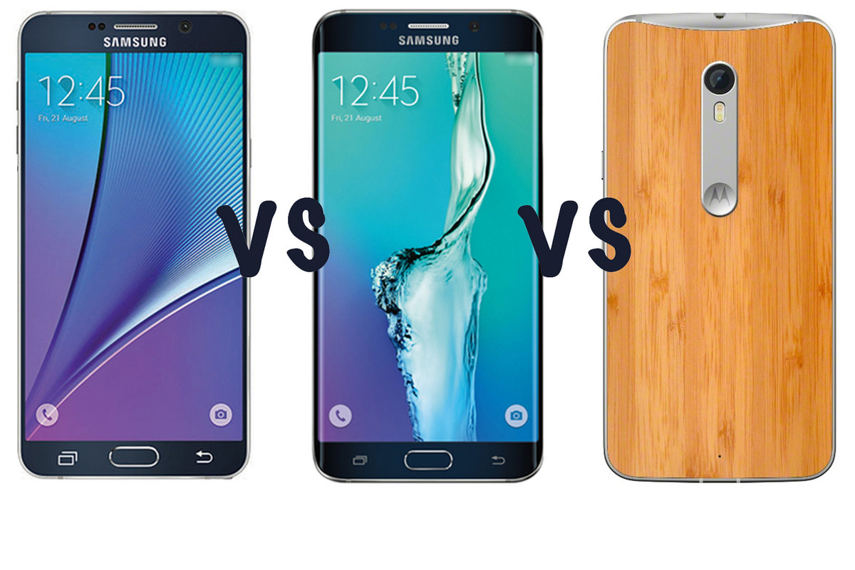 Samsung Galaxy S6 Edge Plus Vs Note 5 Motorola Moto X Smartphone Style Whats The Difference Pocket Lint
