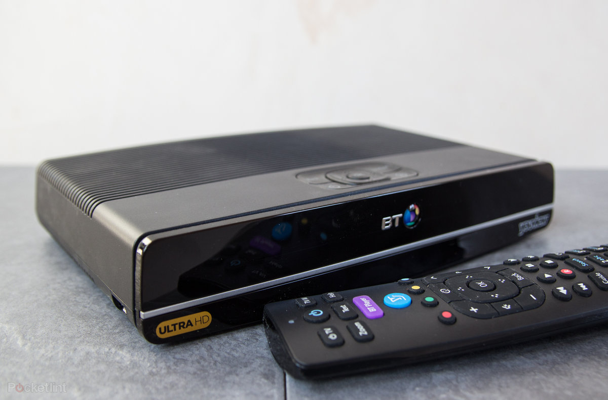 Bt Ultra Hd Youview Review 4k Entertainment But In Limited Supply To The Cable Line Ready Tvs Or Through An Adapter Box Set Top Pocket Lint