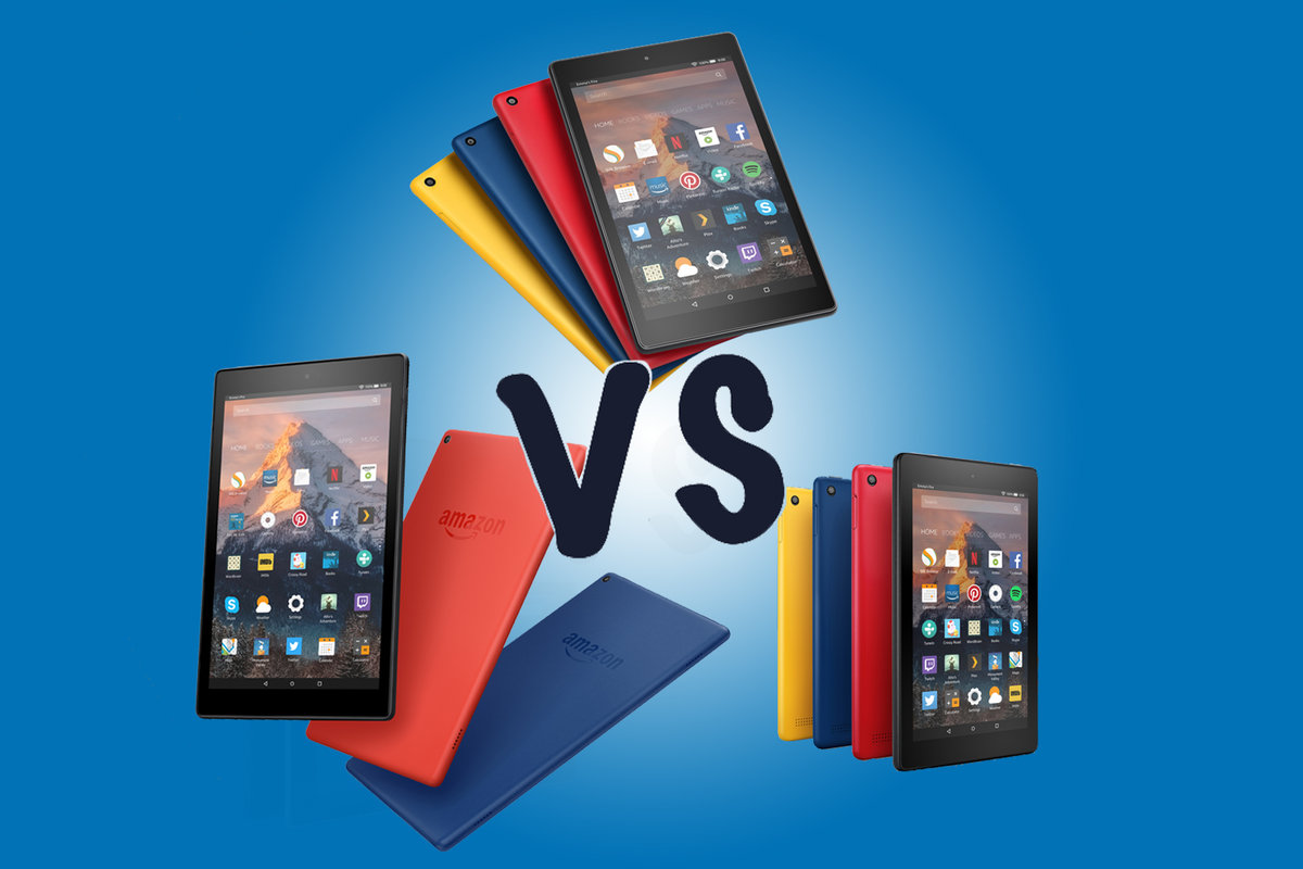 Tablets news reviews photos and video pocket lint amazon fire 7 vs fire hd 8 vs fire hd 10 which fire tablet should voltagebd Gallery