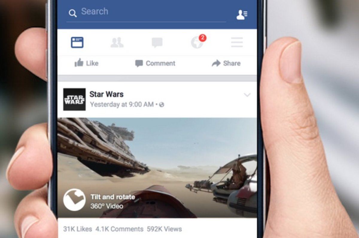 Facebook now supports 360-degree videos: See the first ones her