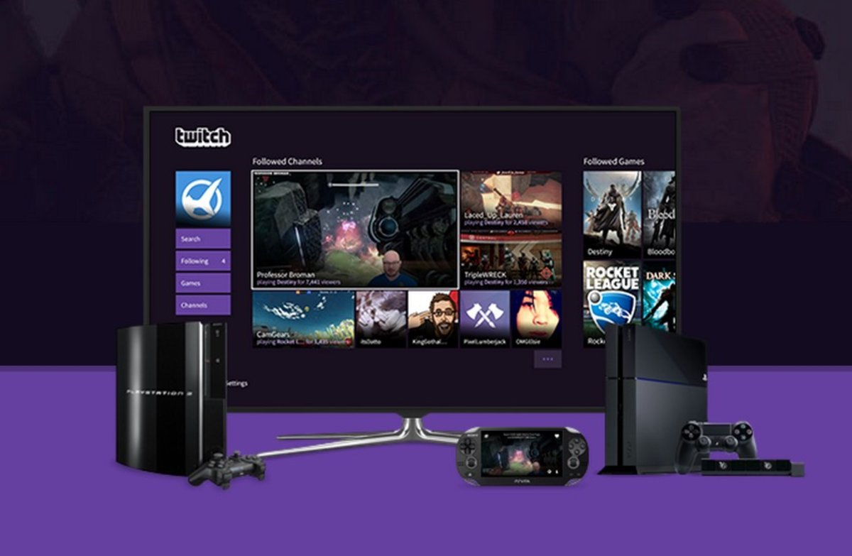 Full Twitch Apps Finallying Soon To Ps4, Ps3, Ps Vita, And Ps Tv