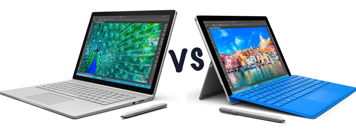 Microsoft Surface Book i7 (2016) vs Surface Book (2015) vs Surf