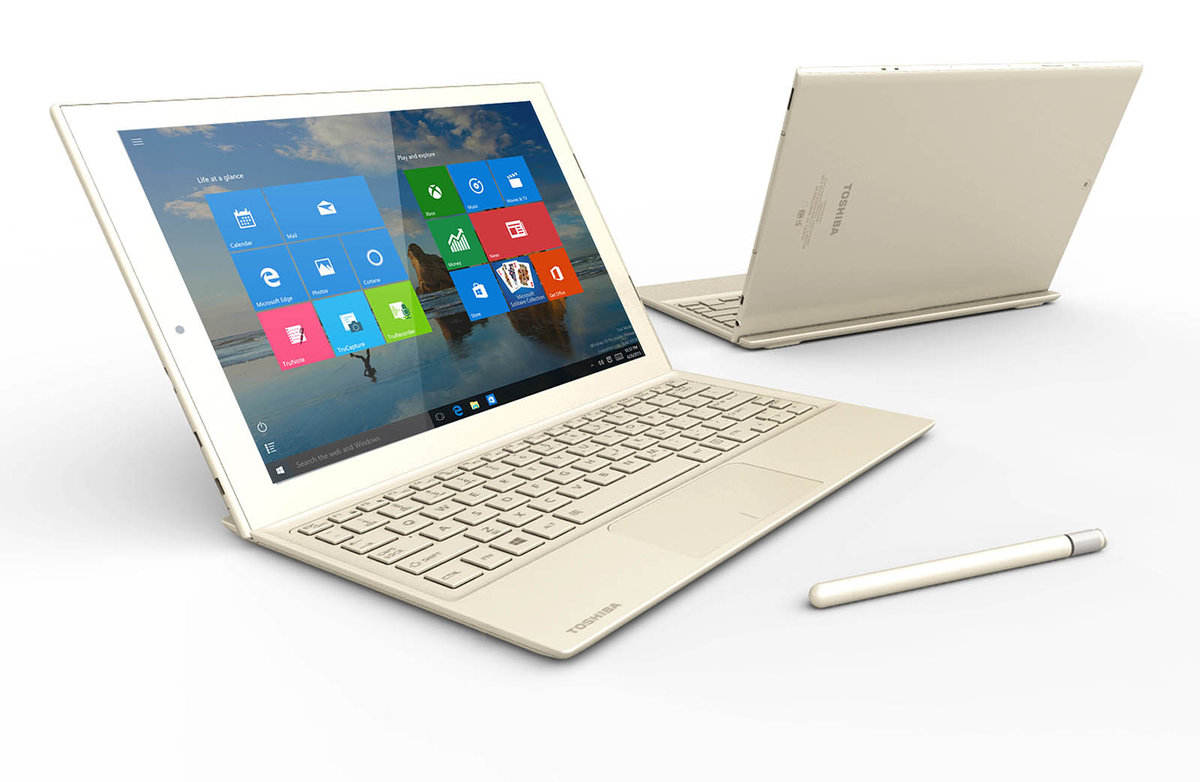 It's Toshiba's Turn To Take On The Surface Pro With Its Dynapad Windows 10  Tablet Pocketlint