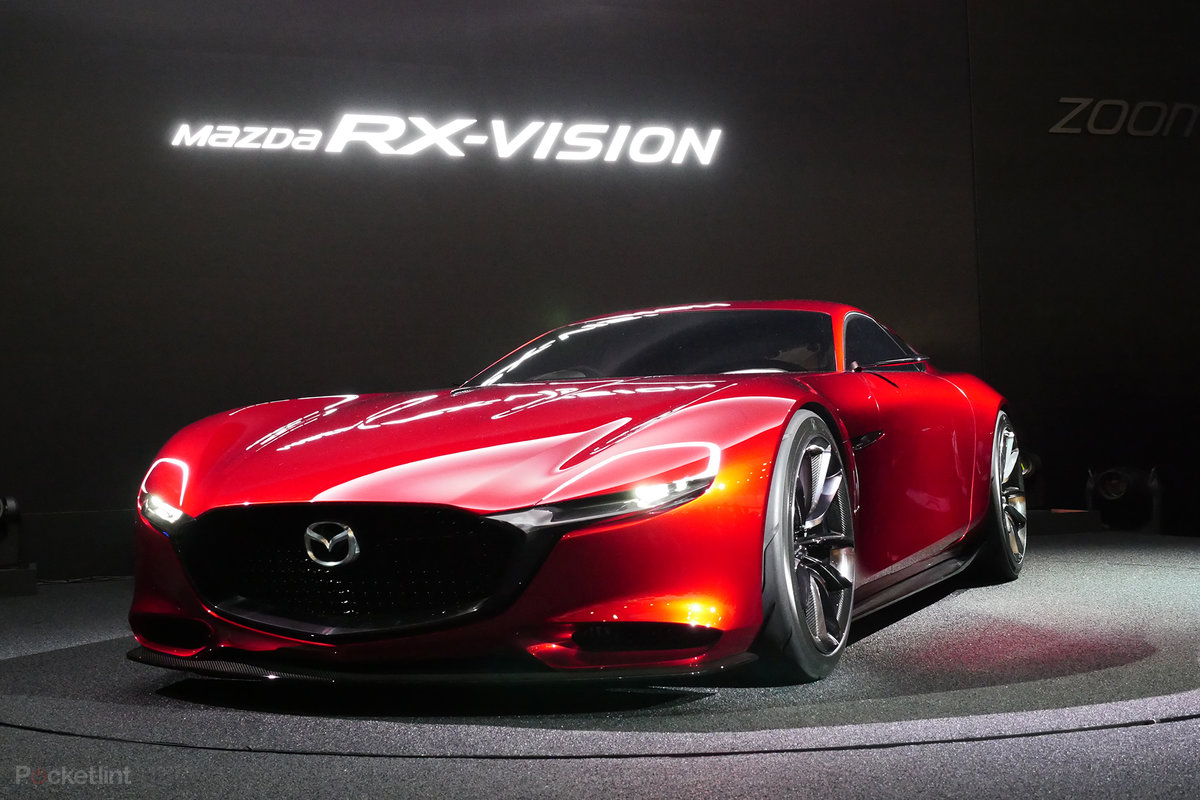 Mazda RX Vision: Stunning Sports Concept Steals Tokyo Show, Reintroduces  Rotary Engine   Pocket Lint