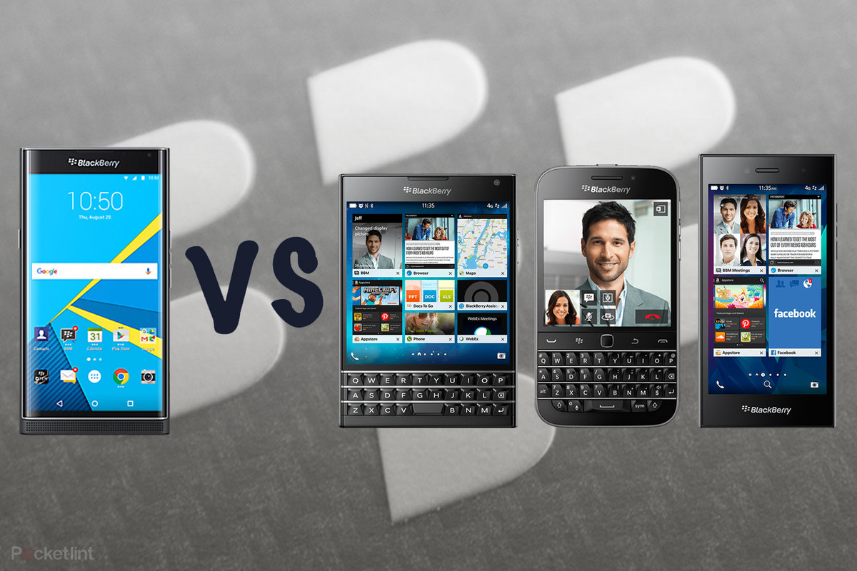 BlackBerry Priv vs BlackBerry Passport, Classic, Leap: What's t