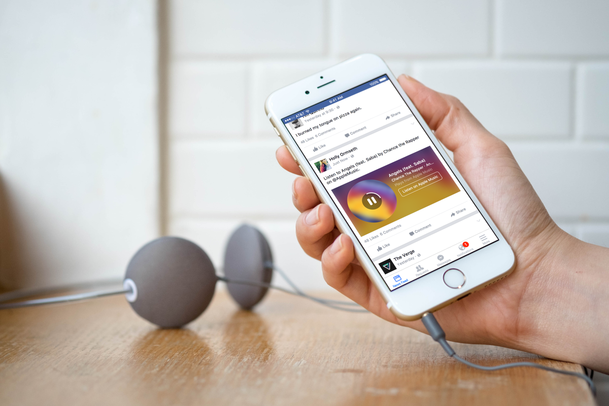 Facebook Music Stories: What are they and how do they work? - P