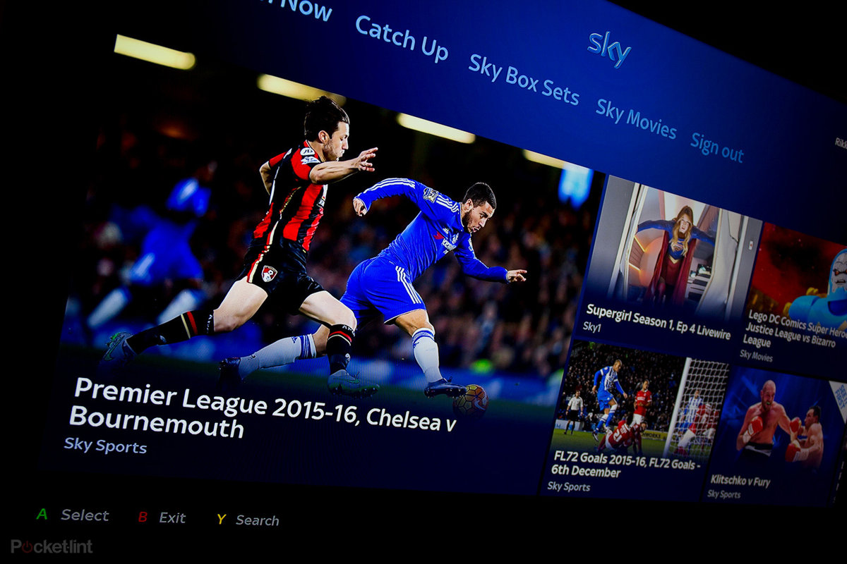 Watch Sky on Xbox One from today: TV from Sky app arrives to gi