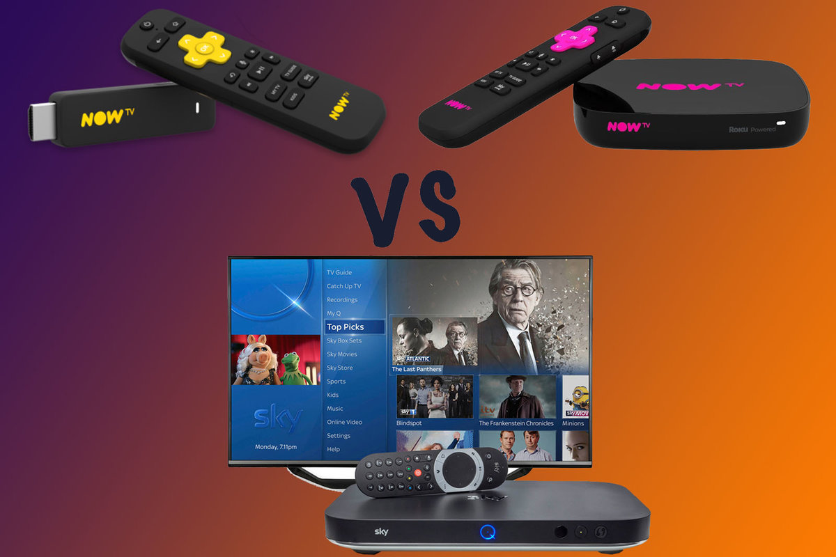 Now Tv Vs Sky Q Which Sky Package Is Right For You