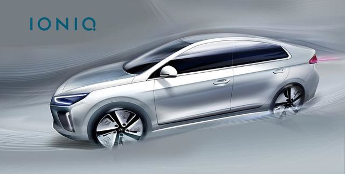 Hyundai Ioniq This Is What S First All Electric Vehicle Looks Like