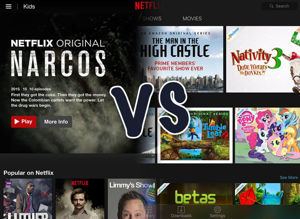 Netflix vs Amazon Prime Instant Video: Which streaming service