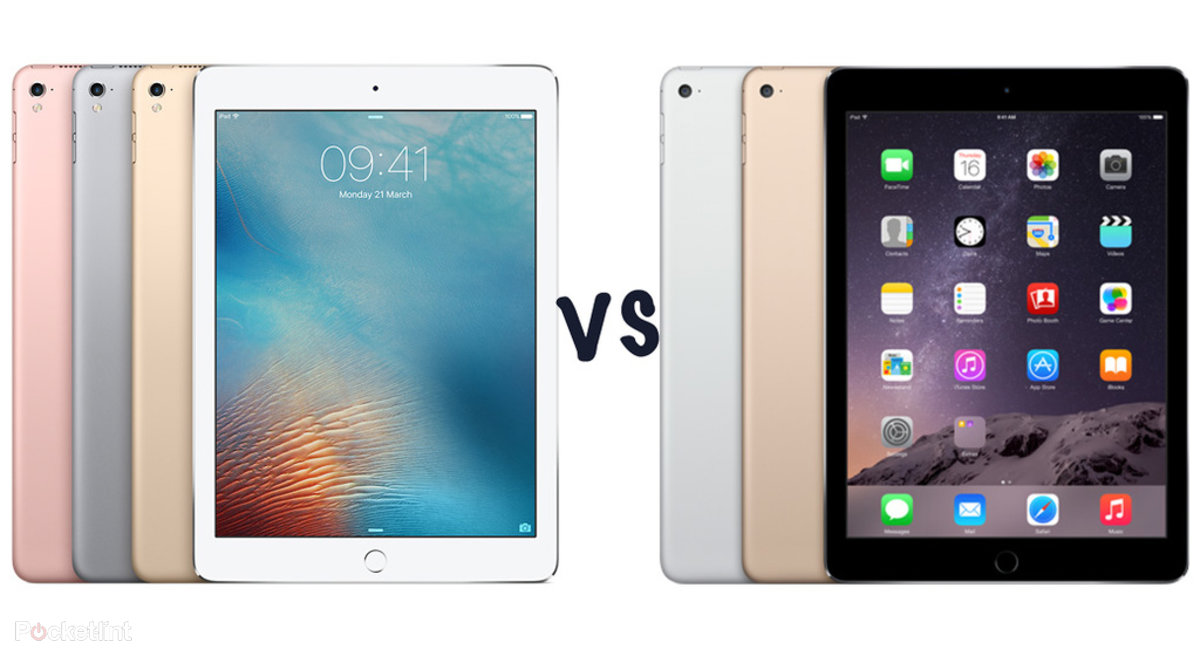 apple ipad pro 9 7 vs ipad air 2 what s the difference pocket lint