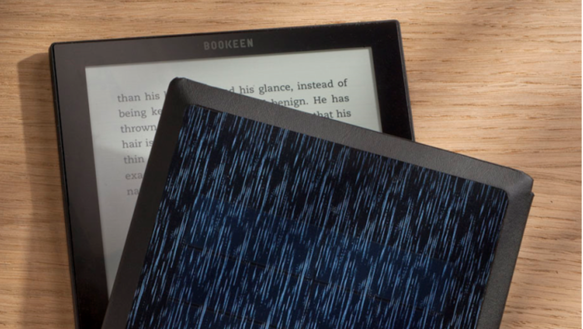 Ebook reader powered by the sun will let you read forever witho